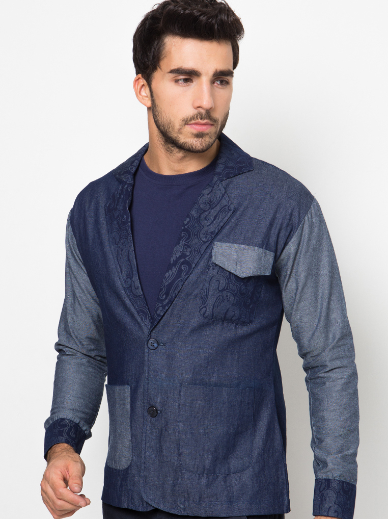 Clive Daley Jacket [Blue]